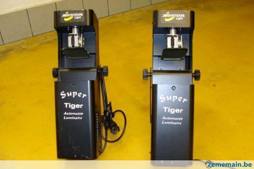 4 Scan à effet miroir (Tiger) (4 Canaux DMX)
