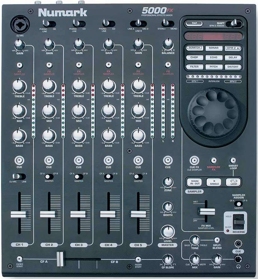 table de mixage 5000fx numark